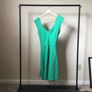 Anthropologie teal dress, size 8